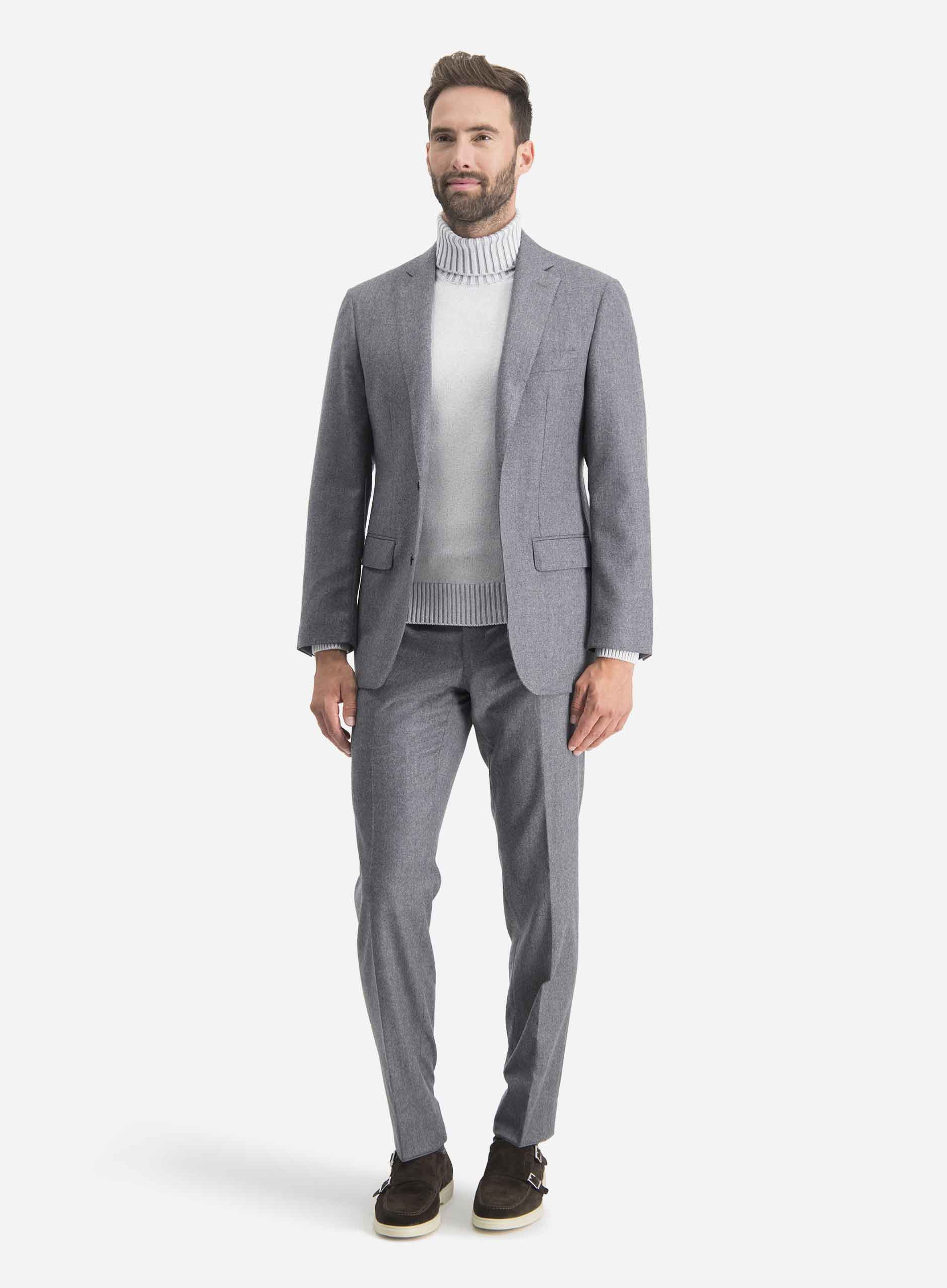 Soft tailoring look