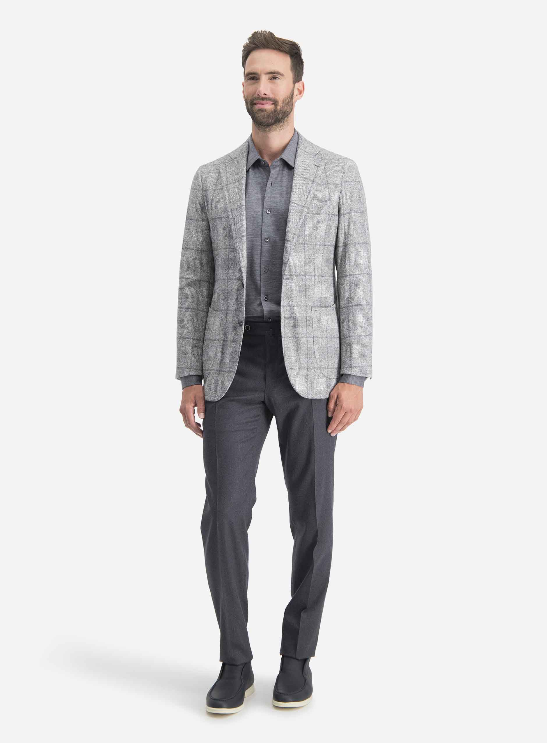 Casual tailoring look