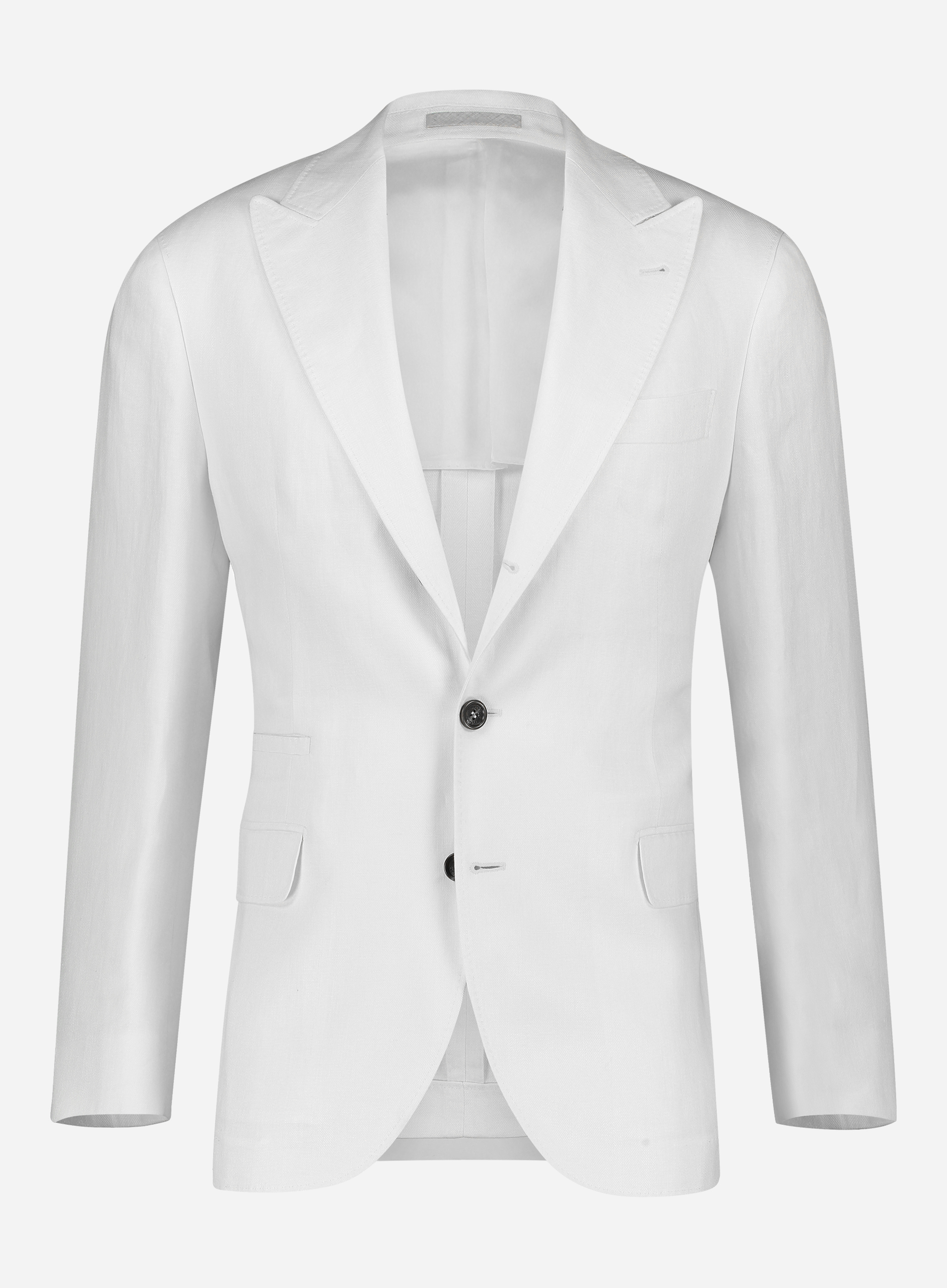Brunello cucinelli Regular-fit linnen jasje Off-white