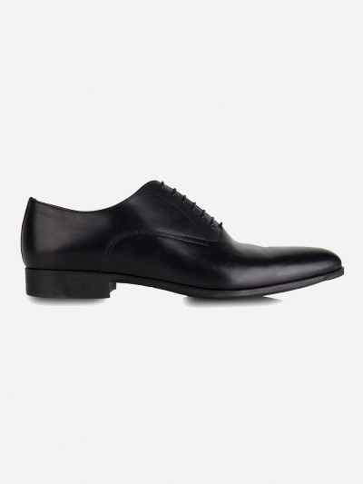 Lederen oxford veterschoenen 'William'