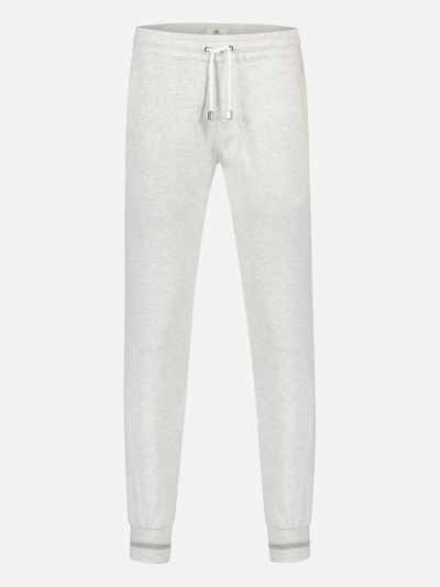 Regular-fit katoenen joggingbroek