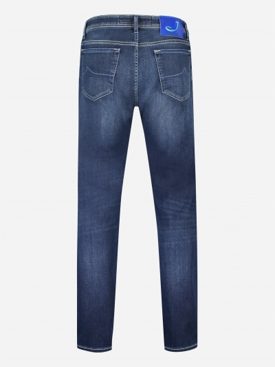 Regular-fit J620 jeans in stretch-katoen