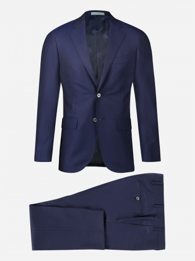 Regular-fit wollen Sartoria pak