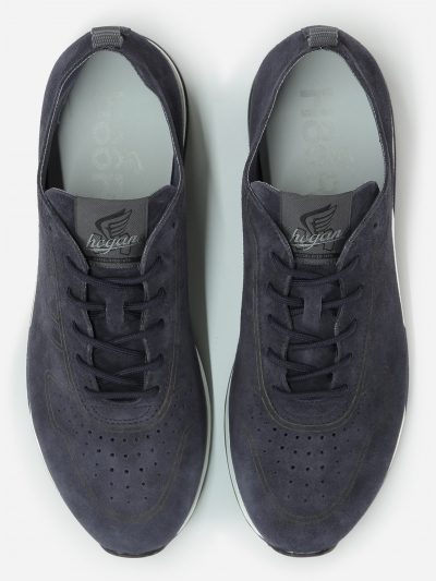 Low-top suède Sneaker