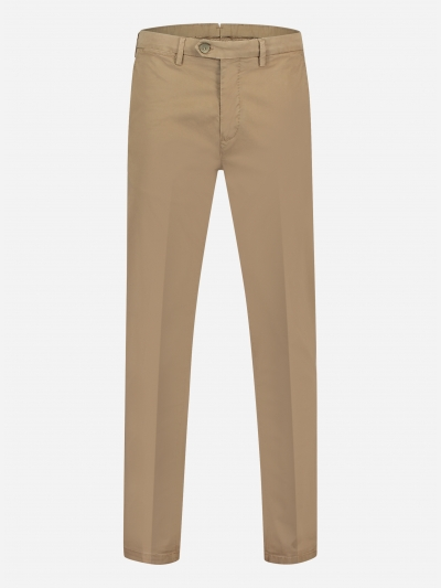 Slim-fit chino pantalon in stretch-katoen