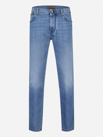 Slim-fit ID jeans in stretch-katoen