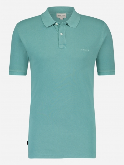 Regular-fit katoenen polo