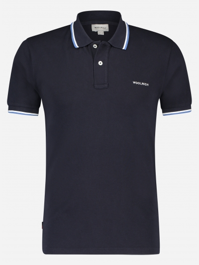 Regular-fit Polo shirt in katoen