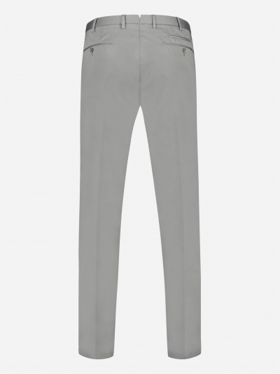 Slim-fit chino in stretch-katoen