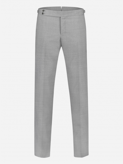 Slim-fit chino in stretch virgin wol