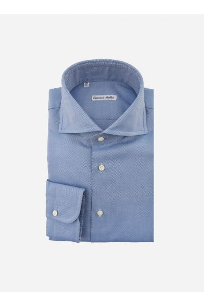 Wide-fit oxford overhemd