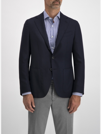 Woolen regular-fit blazer
