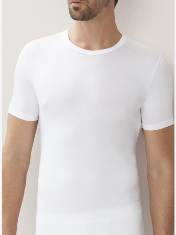 Modal t-shirt in stretch - 700 Pureness