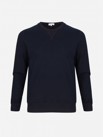 Relaxed-fit sweater with stretch