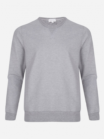 Relaxed-fit sweater met stretch