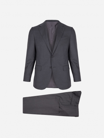 Merino woolen regular-fit suit