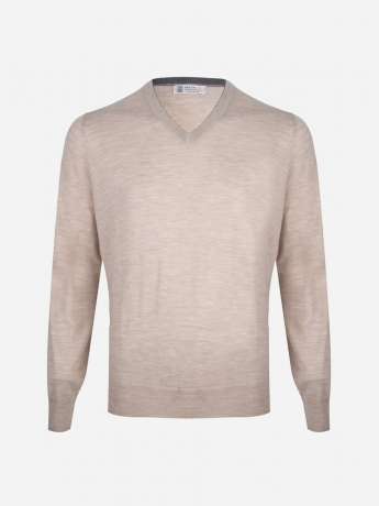 Regular-fit wool-cashmere sweater