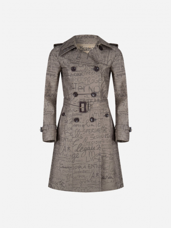 Limited edition waterafstotende trenchcoat - DAMES