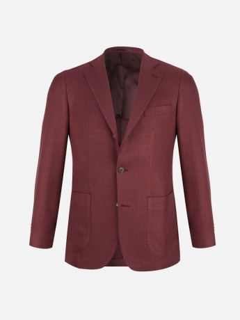 Slim-fit 'hopsack' blazer
