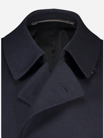Wol-cashmere double breasted mantel