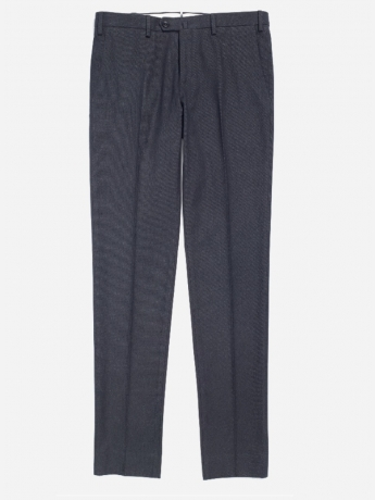 Regular-fit pantalon in stretch-katoen