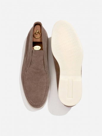 Suede slip-on 'Open Walk'