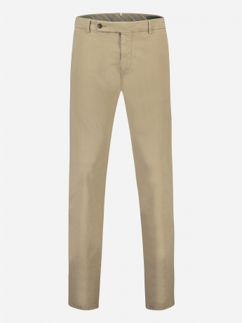 katoenen slim-fit chino