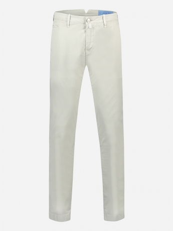 Slim-fit 5 pocket broek in stretch-katoen 'Bobby'