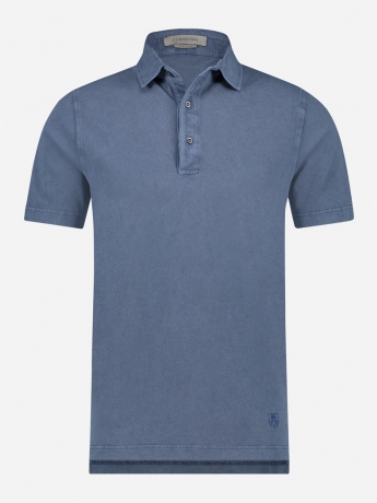 Regular-fit Polo shirt in stretch-katoen