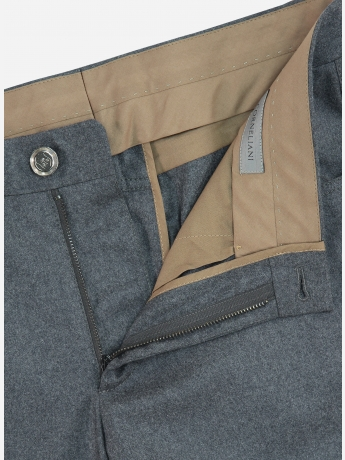 Regular-fit wol-cashmere pantalon