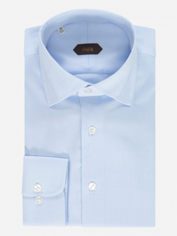 Slim-fit oxford overhemd