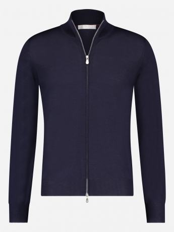 Slim-fit wol-cashmere ritsvest