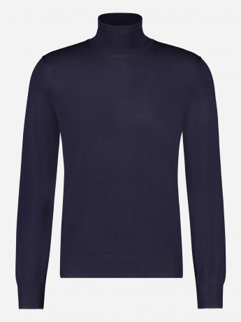 Slim-fit wol-cashmere coltrui