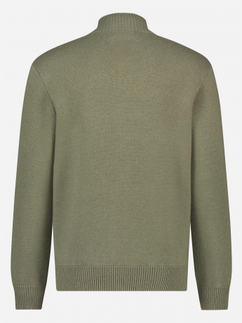 Regular-fit wol-cashmere blend ritsvest