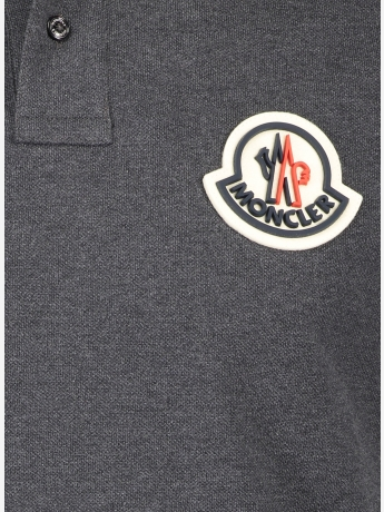 Regular-fit logo polo