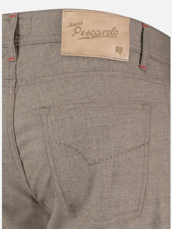Slim-fit cashmere 5-pocket