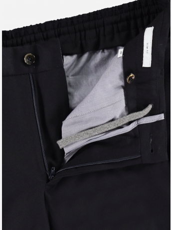 Slim-fit wol-cashmere pantalon