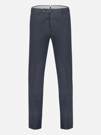 Slim-fit pantalon in stretch-katoen