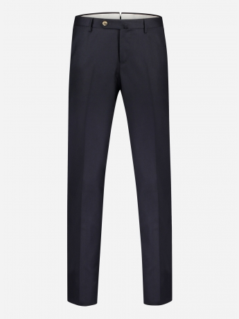 Slim-fit stretch-wol pantalon