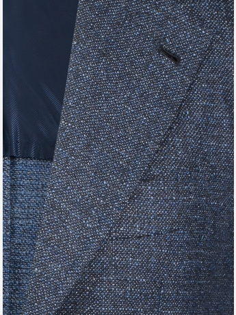 Regular-fit sharkskin jasje