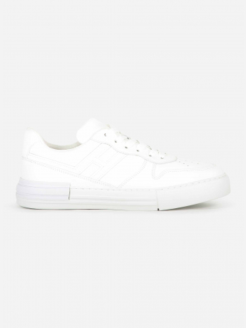 Lederen low-top Rebel sneaker