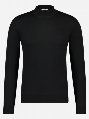 Slim-fit mock neck coltrui