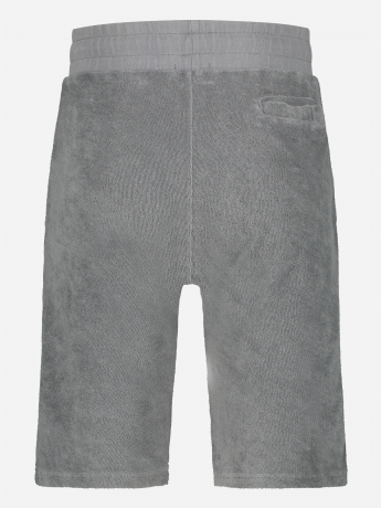 Slim-fit bermuda in badstof