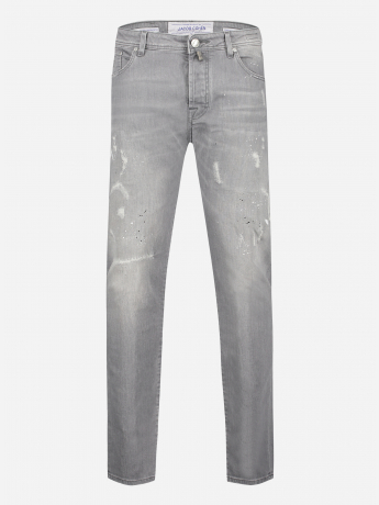Distressed slim-fit J622 comfort jeans