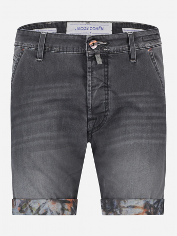 Slim-fit J6613 korte denim broek