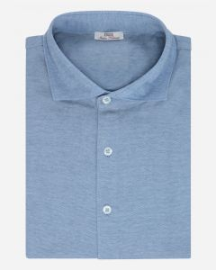 Slim-fit jersey shirt polo