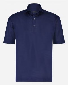 Regular-fit piqué polo