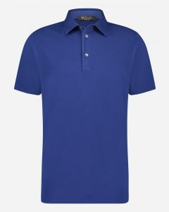 Garment dyed regular-fit polo
