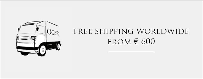 Free shipping worldwide from €600