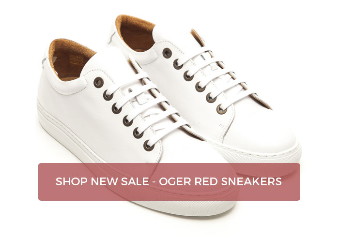New sale items - Oger Red sneakers